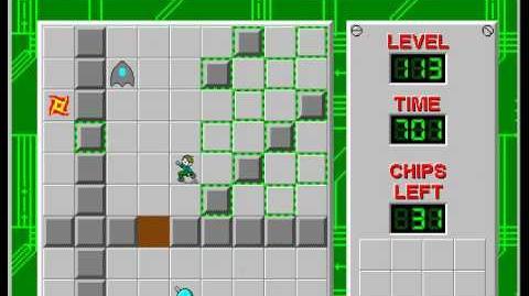 CCLP2 level 113 solution - 671 seconds