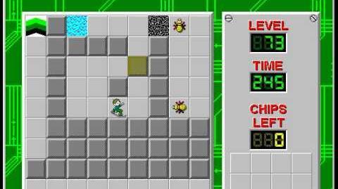 CCLP2 level 73 solution - 232 seconds