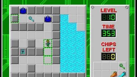 CCLP1 level 10 solution - 320 seconds
