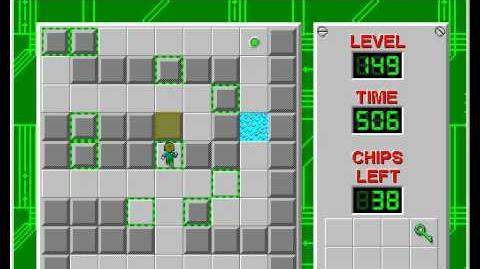 CCLP2 level 149 solution - 408 seconds