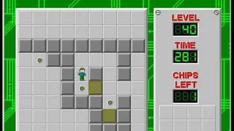 CCLP2 level 40 solution - 249 seconds