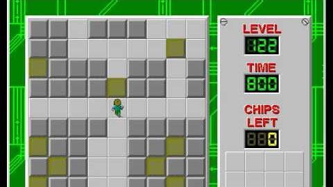 CCLP2 level 122 solution - 451 seconds