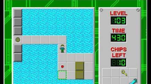 CCLP2 level 103 solution - 392 seconds