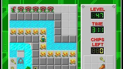 CCLP2 level 47 solution - 270 seconds