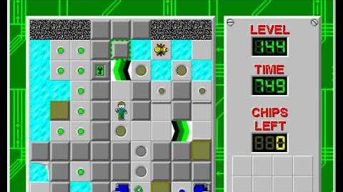 CCLP3 level 144 solution - 604 seconds