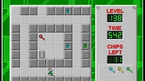 CCLP2 level 138 solution - 481 seconds