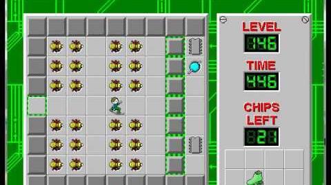 CCLP1 level 146 solution - 383 seconds