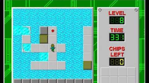 CCLP2 level 8 solution - 302 seconds