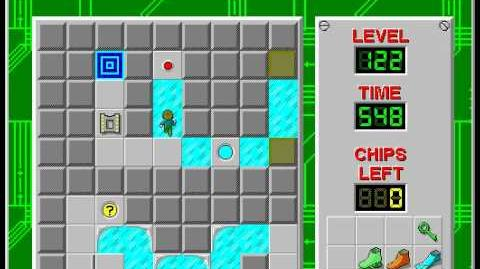 CCLP3 level 122 solution - 504 seconds