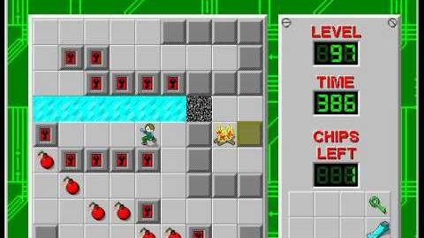 CCLP2 level 97 solution - 265 seconds