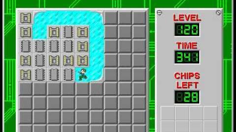 CCLP2 level 120 solution - 335 seconds