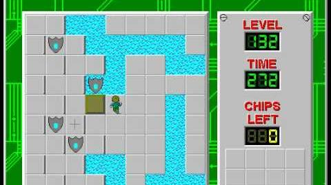 CCLP2 level 132 solution - 250 seconds