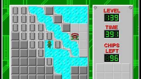 CCLP2 level 139 solution - 373 seconds