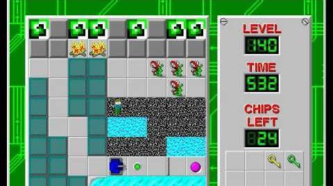 CCLP2 level 140 solution - 477 seconds