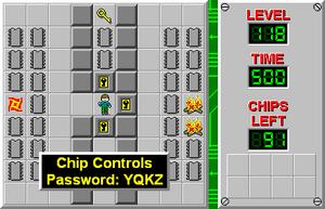 CCLP4 Level 118