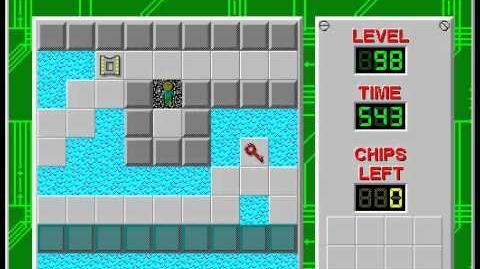 CCLP3 level 98 solution - 496 seconds