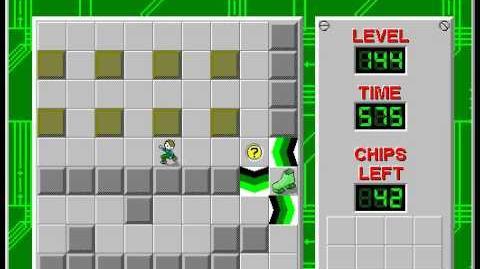 CCLP2 level 144 solution - 539 seconds