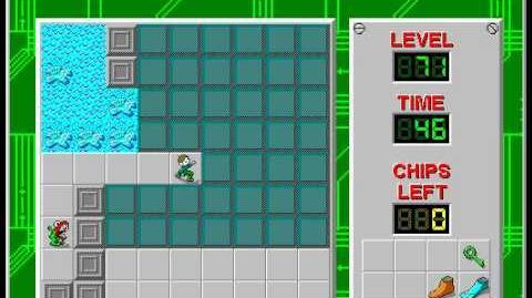 CCLP2 level 71 solution - 26 seconds