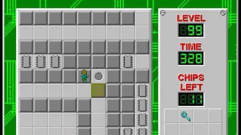 CCLP2 level 99 solution - 269 seconds