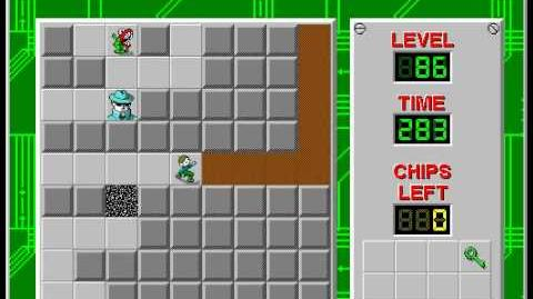 CCLP2 level 86 solution - 249 seconds