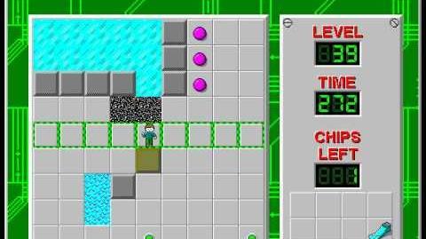 CCLP2 level 39 solution - 231 seconds