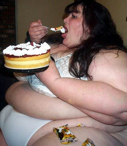 File:Very-fat-woman-eating 130682670469.jpg