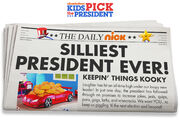 Kids-pick-the-president-newspaper