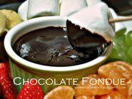 Chocolate fondue 2