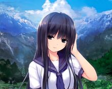 Wallpaper-girl-black-hair-anime