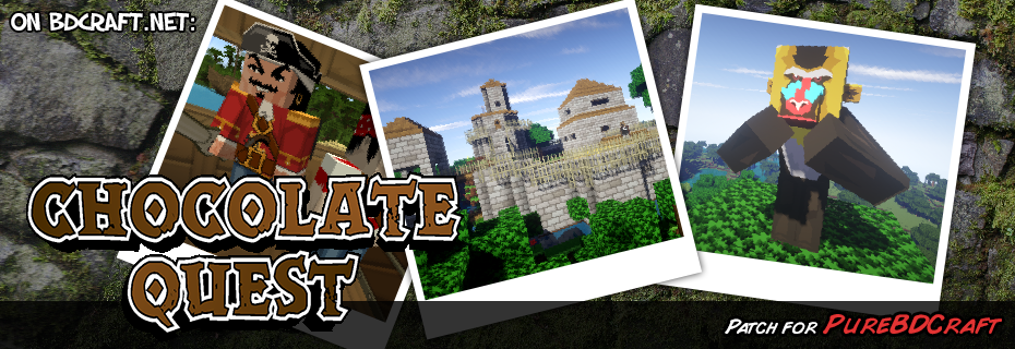 Chocolate Quest Resource Pack Patch for Sphax Pure BDcraft