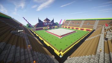 DBZ Arena Bleachers view 1