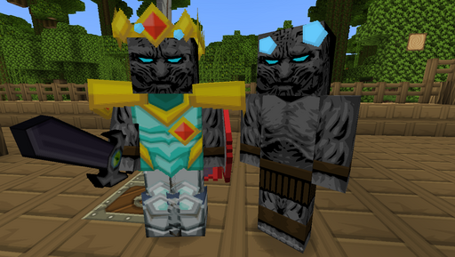 Chocolate Quest HD Texture Pack Walkers