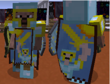 Cape and apron