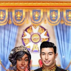 MC and Face 1 Liam in Heir Announcement Photo