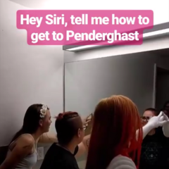 PB Staff trying to get into Penderghast