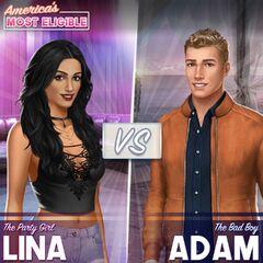 Lina and Adam Sneak Peek