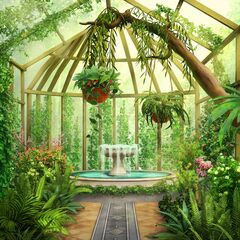 Greenhouse in London house