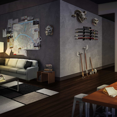 Nik's Apartment in Ch. 2