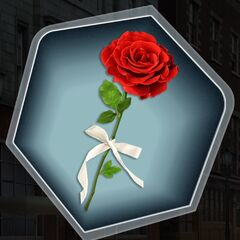 Single Red Rose option