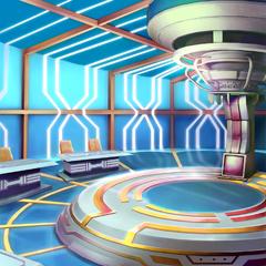 Captain's Exam Simulation Room