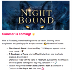 New Info from Choices Insiders Newsletter - May 2019