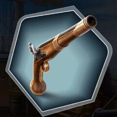 Admiral's pistol