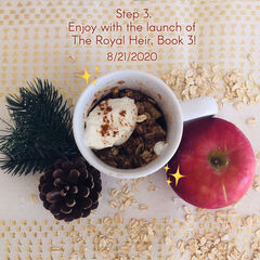 Apple Crisp Mug Recipe (Part 3) - Release Date