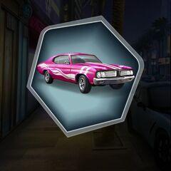 Hot Pursuit Pink Version of MC's 1969 Panther XX Car