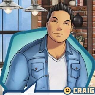 Craig's look in Ember of Hope vision