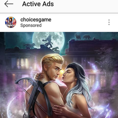 Nightbound Covers on PB's official Instagram page