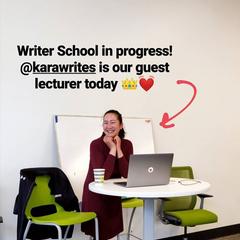 Kara as a Guest Lecturer 04/05/19