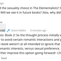 PB Writers on Decisions about Sexuality