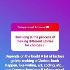 Process for making stories for Choices App