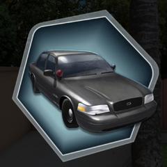 MC Dad's Old Police Car